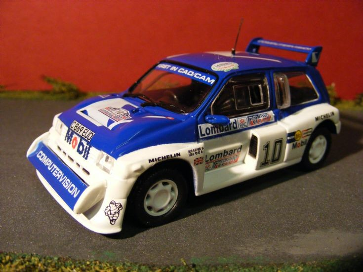1985 MG Metro 6R4 Rally Car