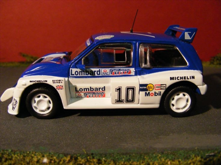 1985 MG Metro 6R4 Rally Car