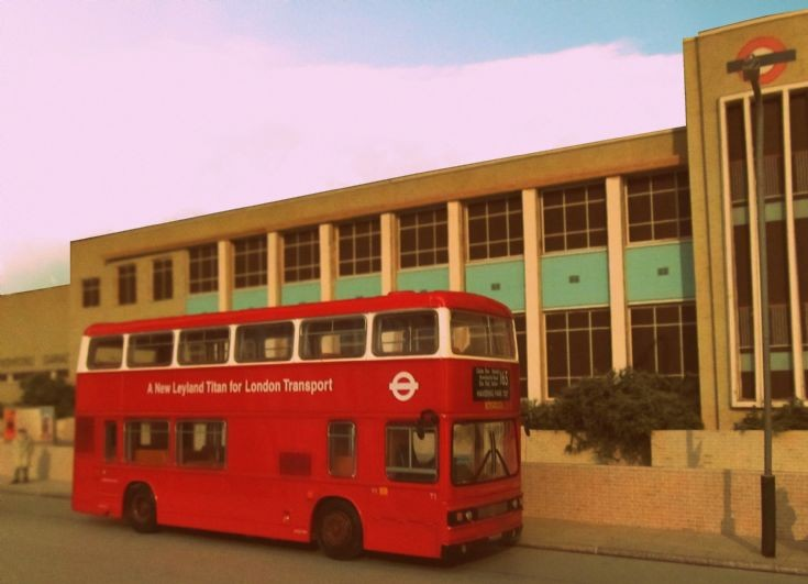 Leyland Titan T1 at Romford bus garage