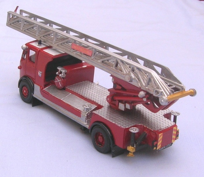 Leyland Beaver/Magirus 100' Turntable Ladder NWR 250 West Riding Fire Brigade