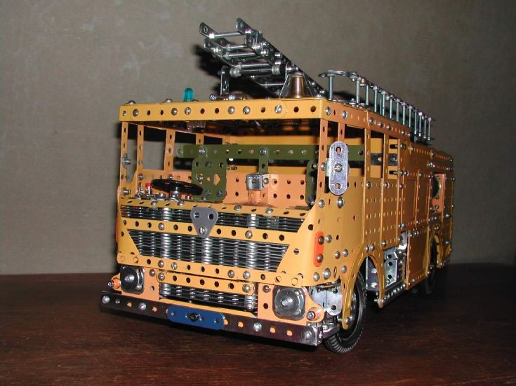Merryweather Marquis Pump in Meccano