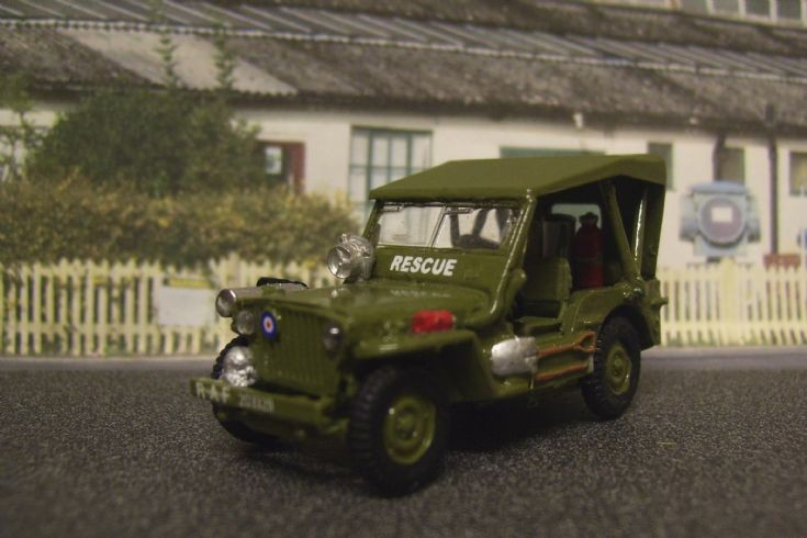 Willys Jeep R.A.F. Rescue.