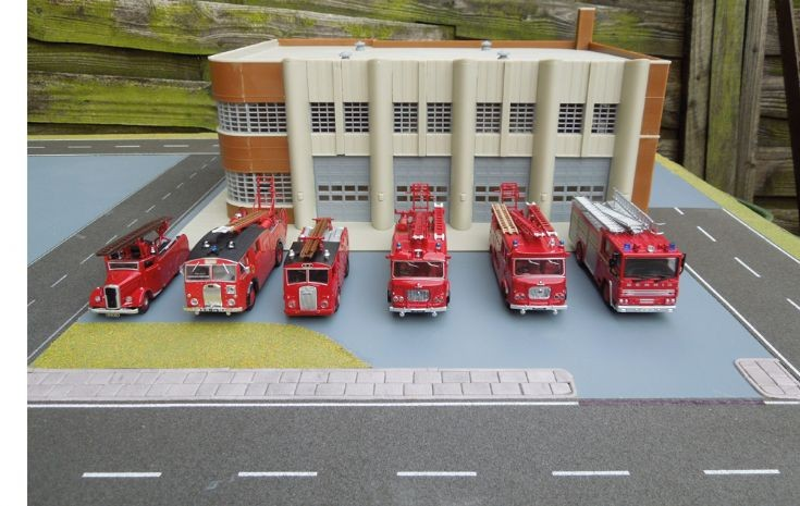 Fire Station and engines