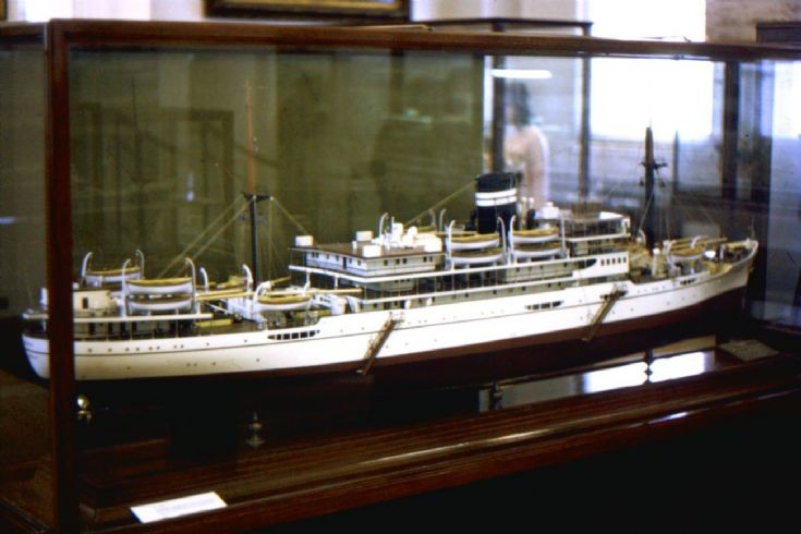 model of B.I. ship 'Dumra'