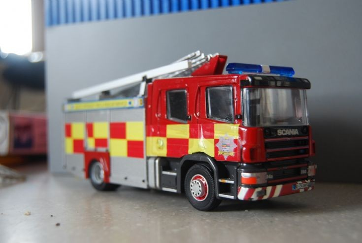 Tipperary fire service Scania