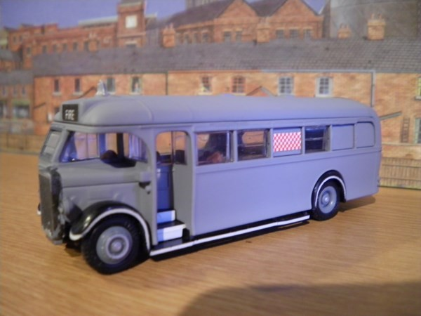 Wartime Leyland emergency tender / control unit