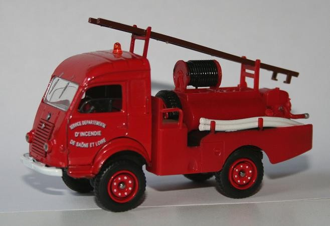 Solido 1/43 Renault R2057 Goelette Bush Fire unit