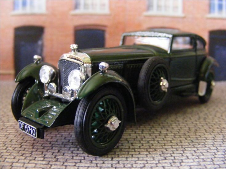 1926-30 Bentley Speed Six Le Mans Coupe