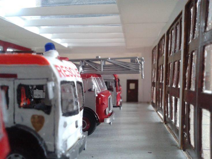 Work in progress - Appliance bay, Suffolk Fire HQ