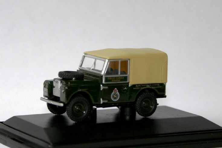 Oxford 1/76 Landrover 88 Civil Defence