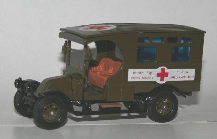 Matchbox 1/48 Renault Ambulance