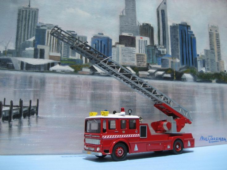 AEC Merryweather Turntable Ladder