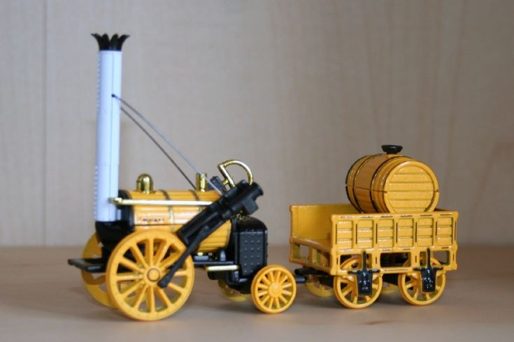 Matchbox 1/48 1829 Stephensons Rocket