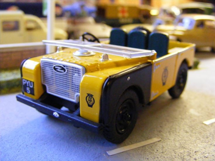 Oxford Diecast - Land Rover