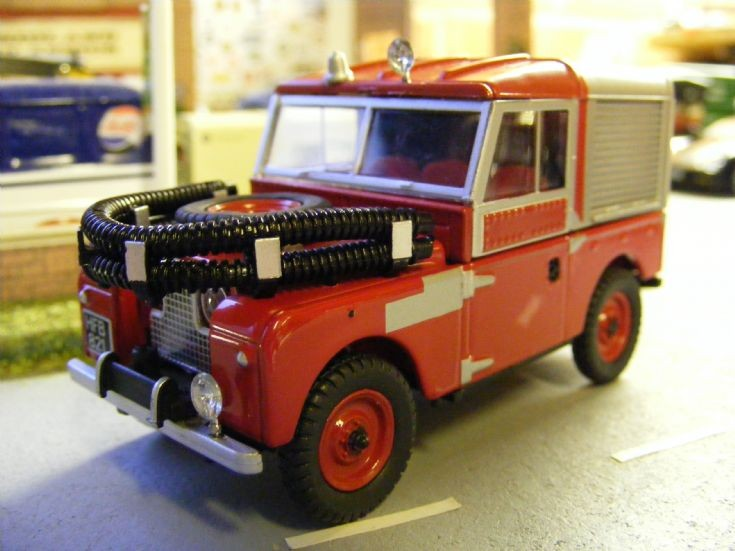 Oxford Diecast - Land Rover