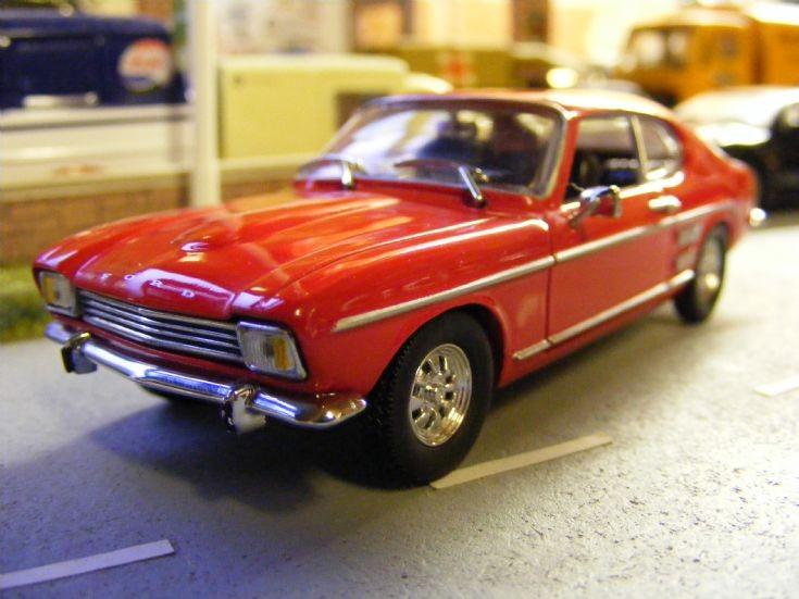 Corgi Detail Cars - Ford