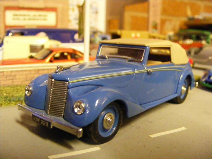 Oxford Diecast - Armstrong Siddeley