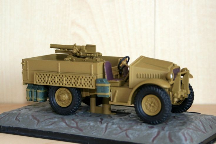 Atlas 1/43 Morris CS8