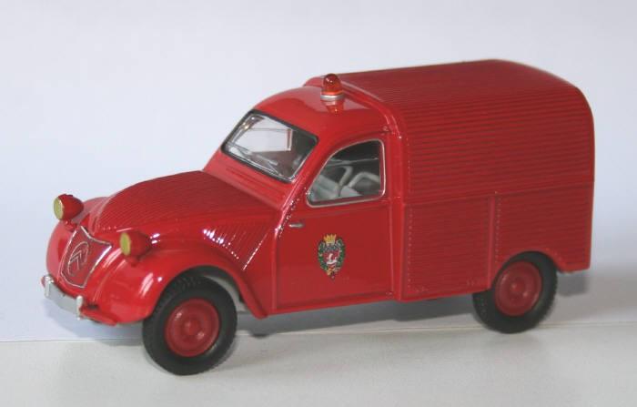 Solido 1/43 Citroën 2cv AZU