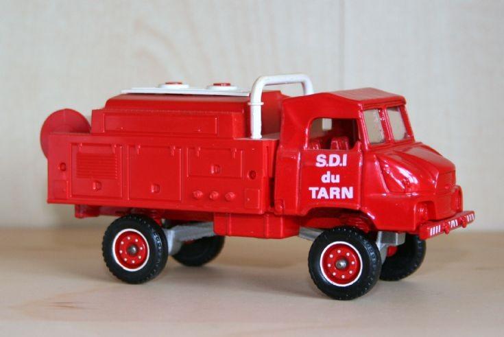 Solido 1/43 Simca-Marmon SUMB bushfire