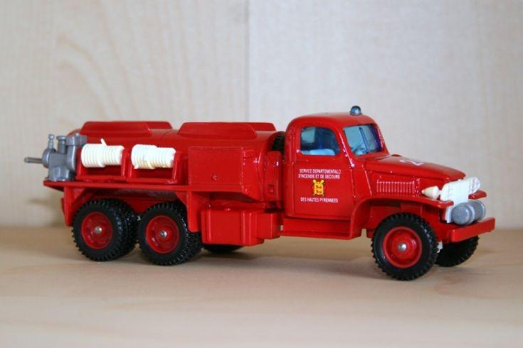 Verem 1/43 GMC CCKW353 bushfire