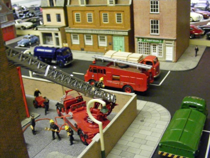 Museum = Townscape Diorama