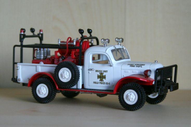 Matchbox 1/48 Dodge Powerwagon bushfire