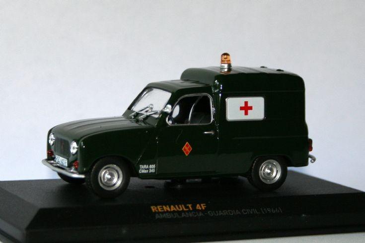 Altaya 1/43 Renault 4F Fourgon