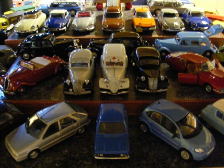 Museum - Citroen Display