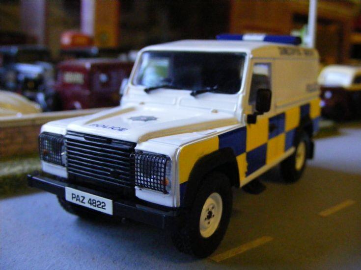Corgi/Vanguards - Land Rover