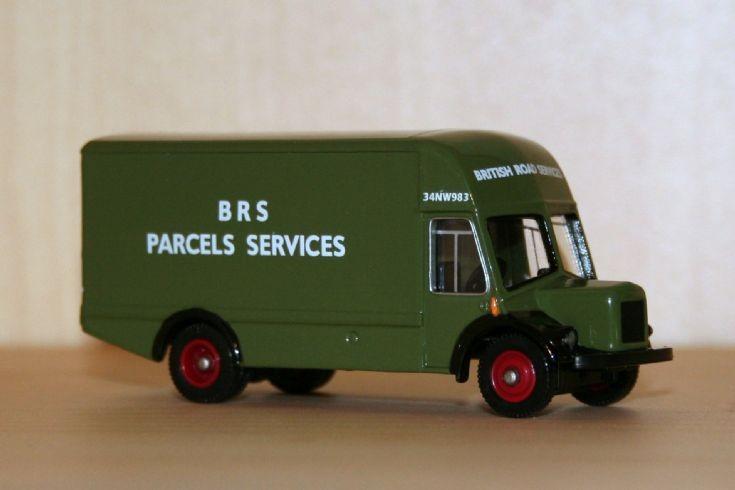 Corgi Trackside 1/76 BMC VA van BRS