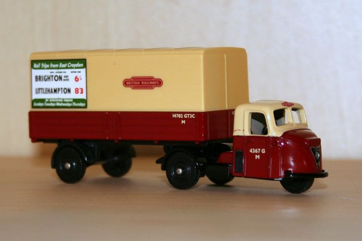 Corgi Trackside 1/76 Scammell Scarab BR
