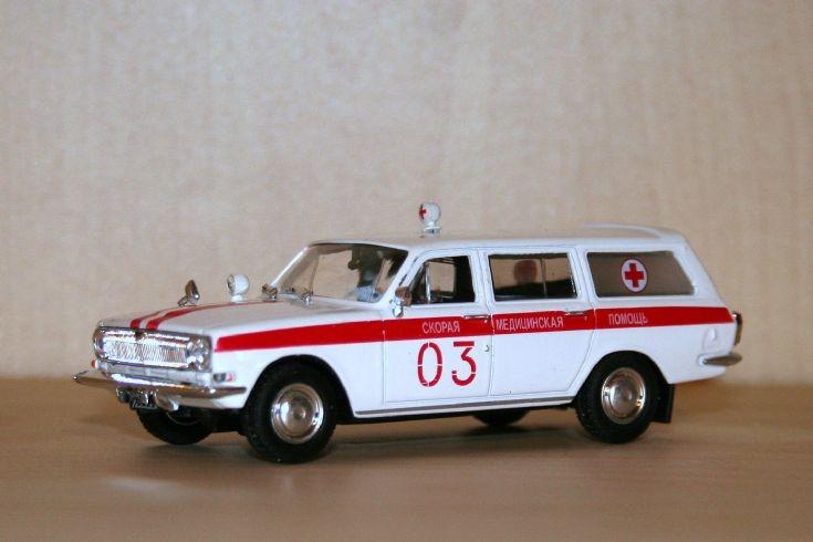 DeAgostini GAZ 2403 Volga ambulance