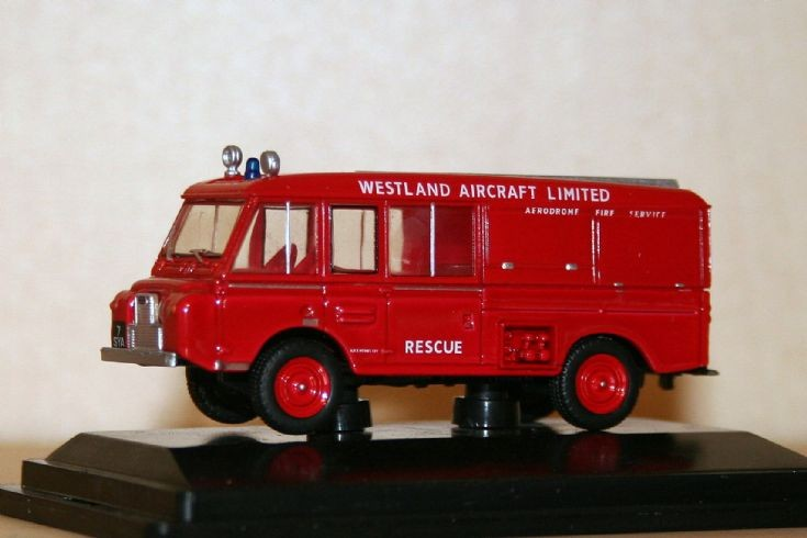 Oxford 1/76 Landrover redwing FT6