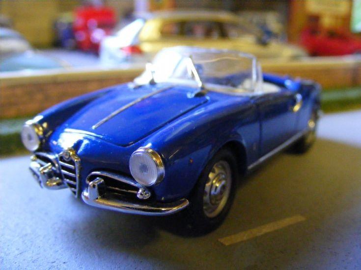 Corgi Detail Cars - Alfa Romeo