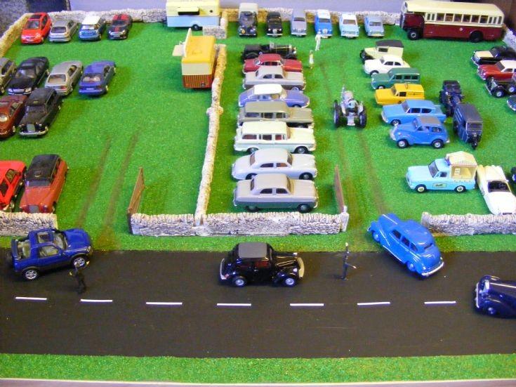 Diorama - Classic Car Show