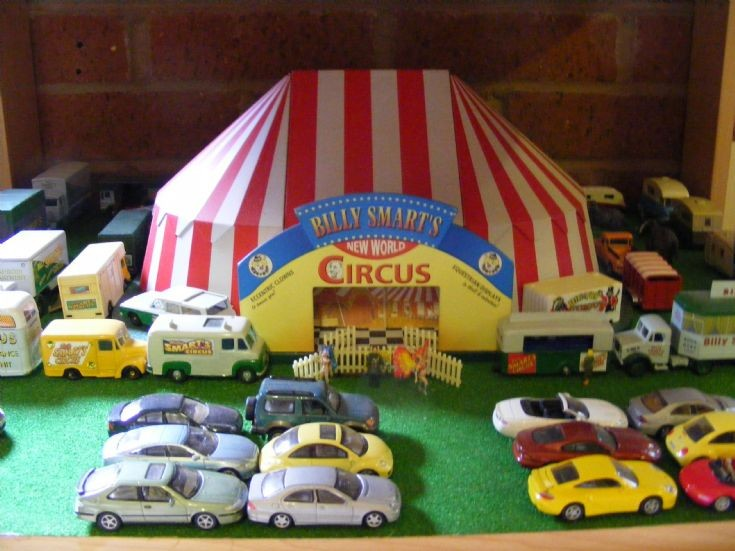 Diorama - Billy Smart's Circus
