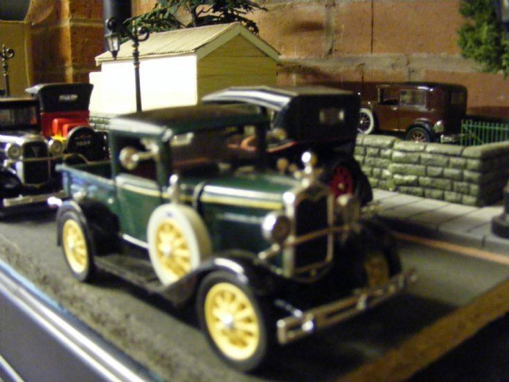 Diorama - 1930/40's Street Scene