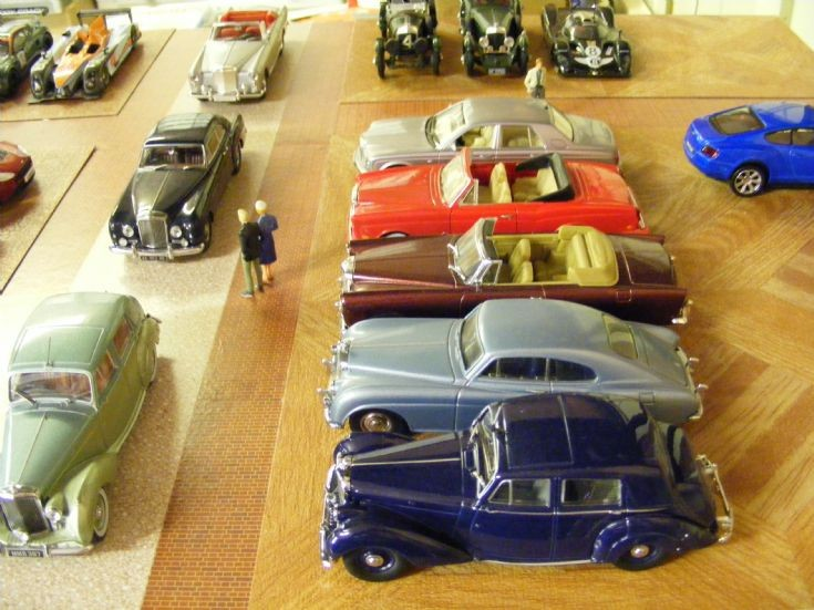 Diorama - Bentley Display