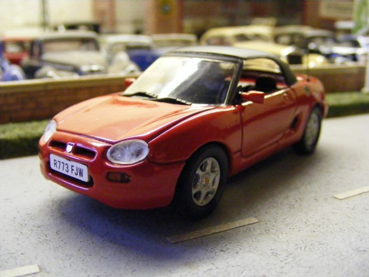 Corgi Detail Cars - MG