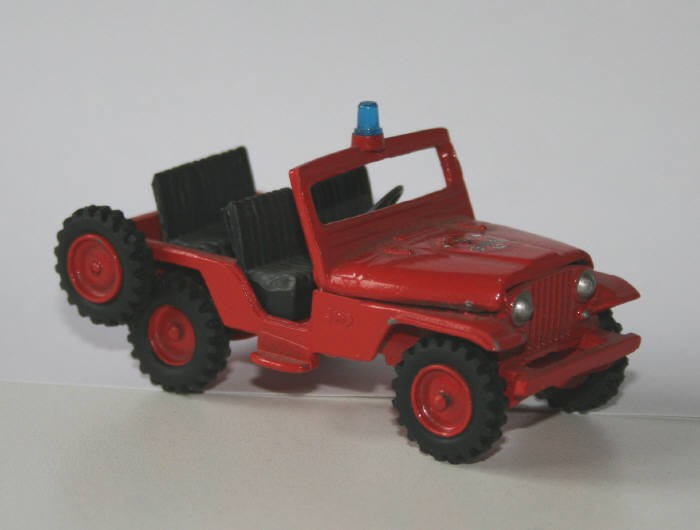 Minimac 1/43 Willy's CJ5 jeep
