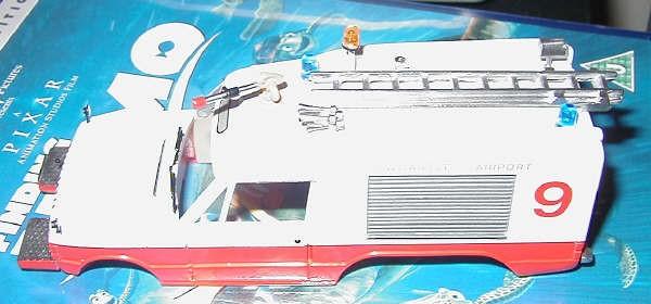 RSH Fire Model Newcastle Commando