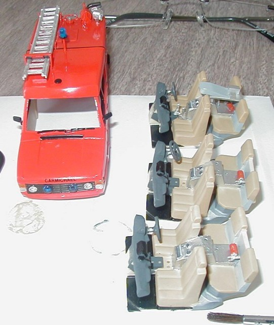RSH Fire Model 1/50th TACR2 Interiors