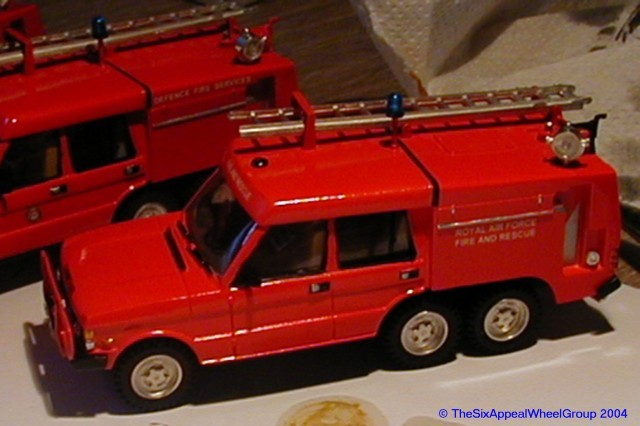 RSH Fire Model 1/50th TACR2  6x4 Range Rover