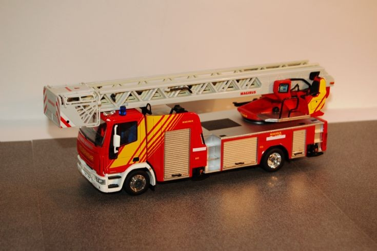 Magirus Turntable Ladder
